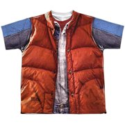 Back To The Future - Mcfly Vest - Youth Short Sleeve Shirt - Small
