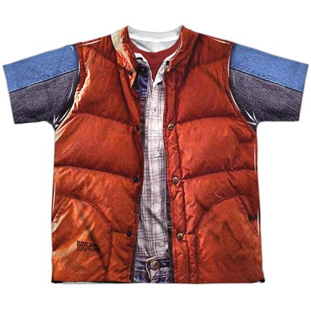 Back To The Future - Mcfly Vest - Youth Short Sleeve Shirt -