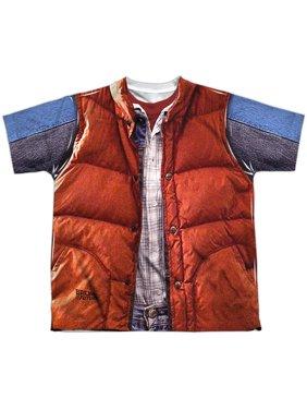Back To The Future - Mcfly Vest - Youth Short Sleeve Shirt - Medium