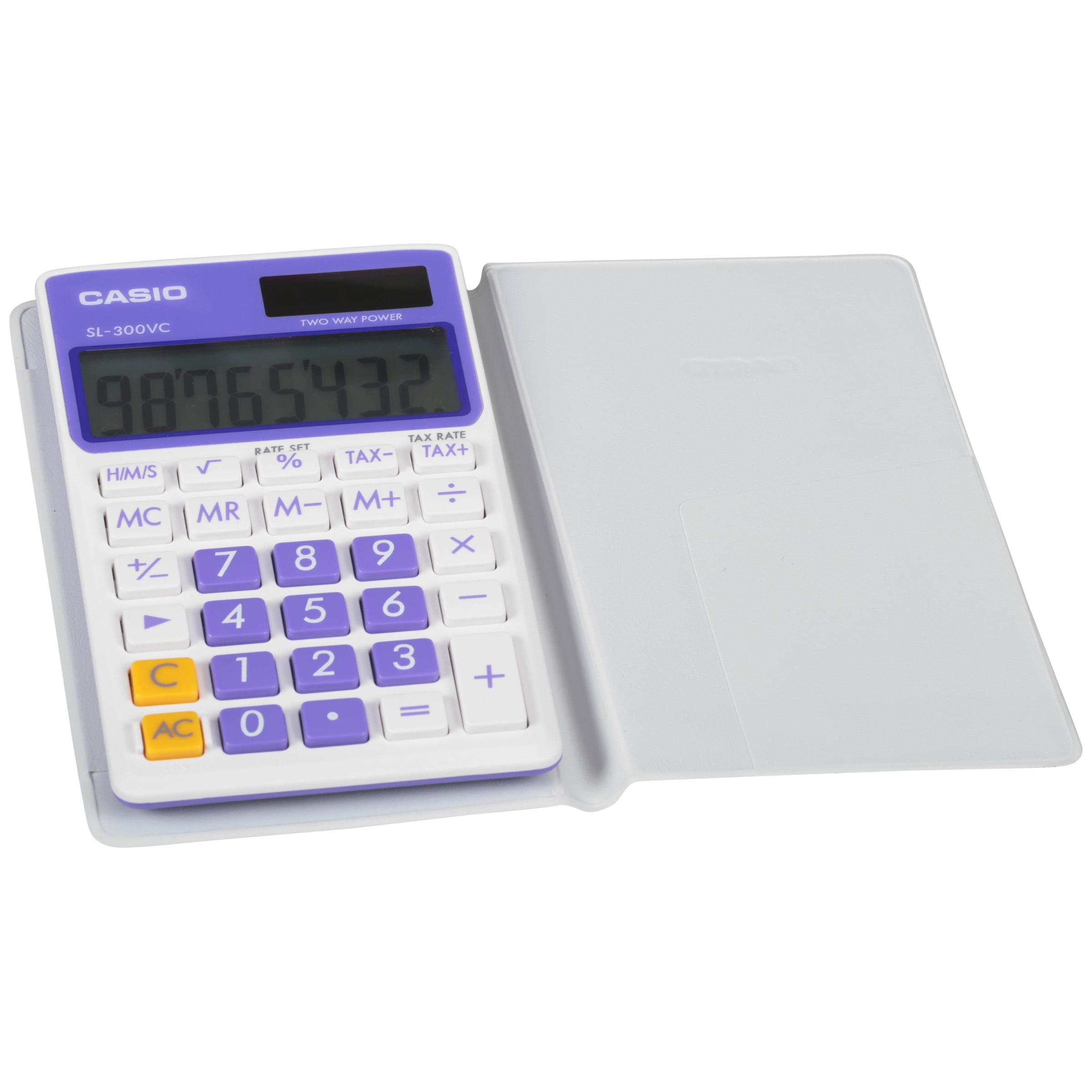 Casio SL300VC-PL 8-Digit Calculator