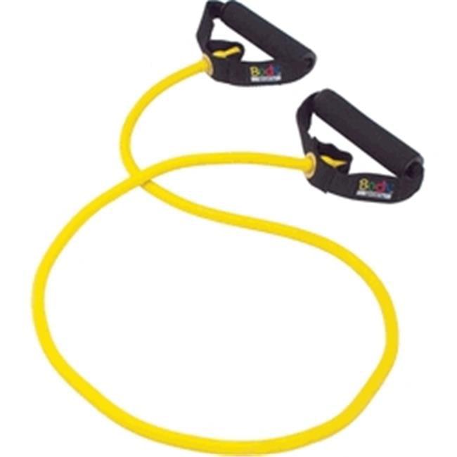 Body Sport ZZR146BMD Studio Series Resistance Tube, Yellow - Medium