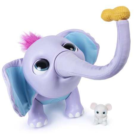 Juno My Baby Elephant with Interactive Moving Trunk and Over 150 Sounds and Movements