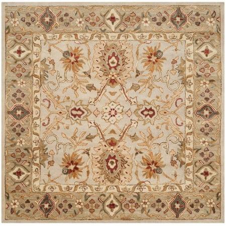 Safavieh Antiquity 6' Square Hand Tufted Wool Rug - image 1 de 1