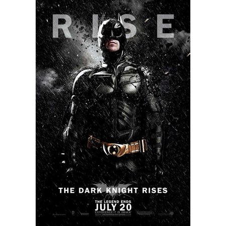 THE DARK KNIGHT RISES - movie POSTER (Style E) (27