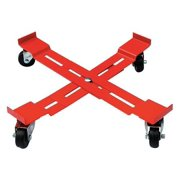 Adjustable Drum Dolly, 1000 lb, 5-3 8 In H