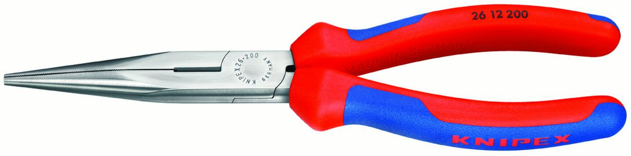 KNIPEX Tools 2612200 Long Nose Pliers With Cutter Comfort Grip by KNIPEX Tools