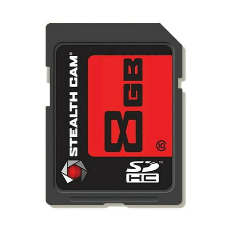 STEALTH CAM 8GB SD CARD SINGLE PK