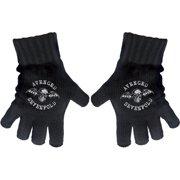 Avenged Sevenfold Death Bat Knit Gloves Black