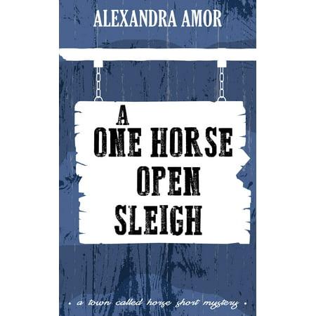 A One Horse Open Sleigh - eBook