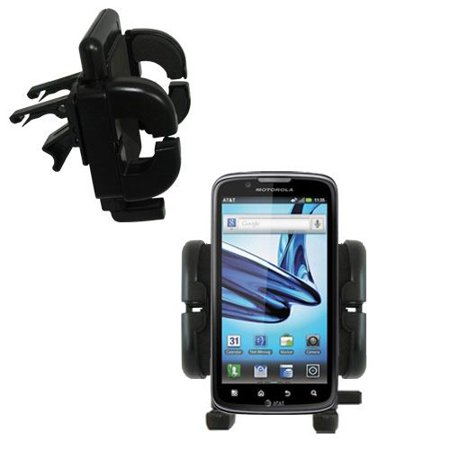 Gomadic Air Vent Clip Based Cradle Holder Car / Auto Mount suitable for the Motorola Edison - Lifetime Warranty