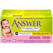 Answer Ovulation Test Daily Tracker, 20 Ct