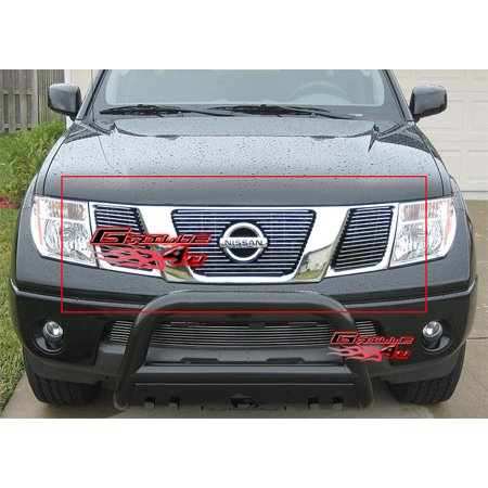 Nissan Frontier Grille Insert - Fits 05-07 Nissan Pathfinder/Frontier Billet Grille Insert