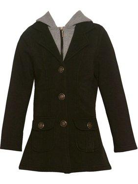 82286630d47a Black Big Girls Coats   Jackets - Walmart.com