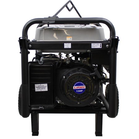 Contractor Generator - Lifan Pro-Series Platinum Premium LF7250iPL, with Total Harmonic Distorion (THD), Clean Power Alternator, Rental/Contractor, OSHA Compliant Portable Generator