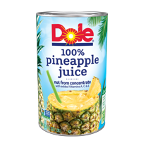 (2 pack) Dole 100% Pineapple Juice 46 fl. Oz Can