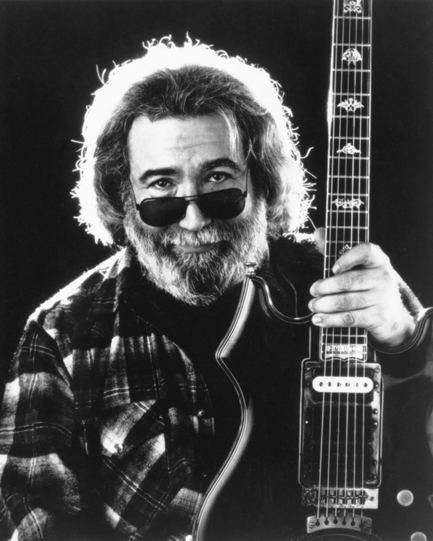 Grateful Dead Portrait In Black And White Jerry Garcia