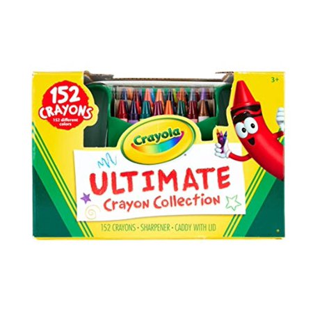Crayola Ultimate Crayon Collection - 152 Crayons - Gift Toy](Ultimate Crayon Collection)