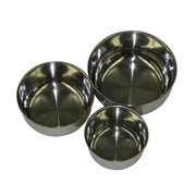 A Cage SS4 Screw-in-Bowls Replacement Bowls For J8-2222T And J8-2828 Playstands
