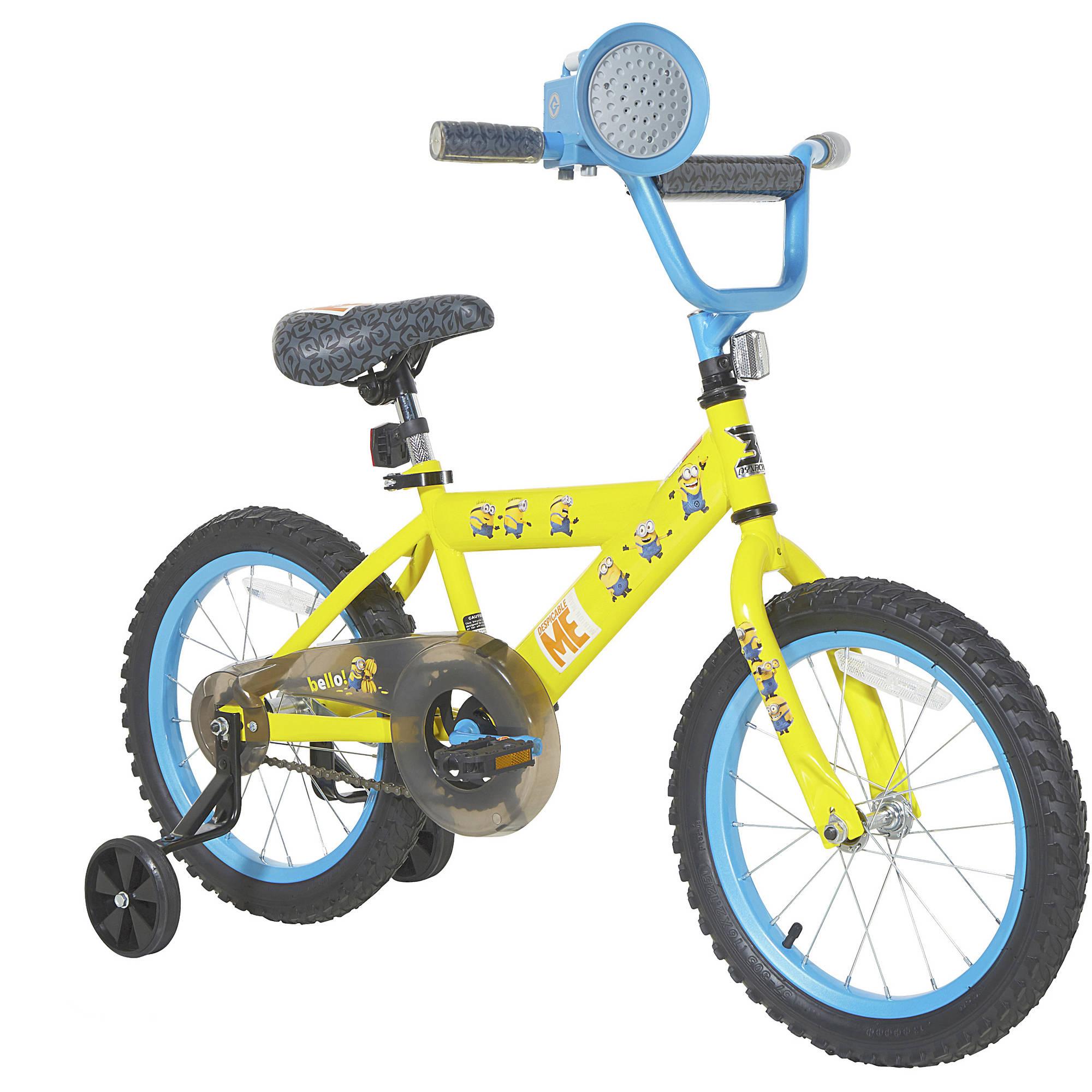 Dynacraft BSC 16 Dynacraft Boy's Minions Bike