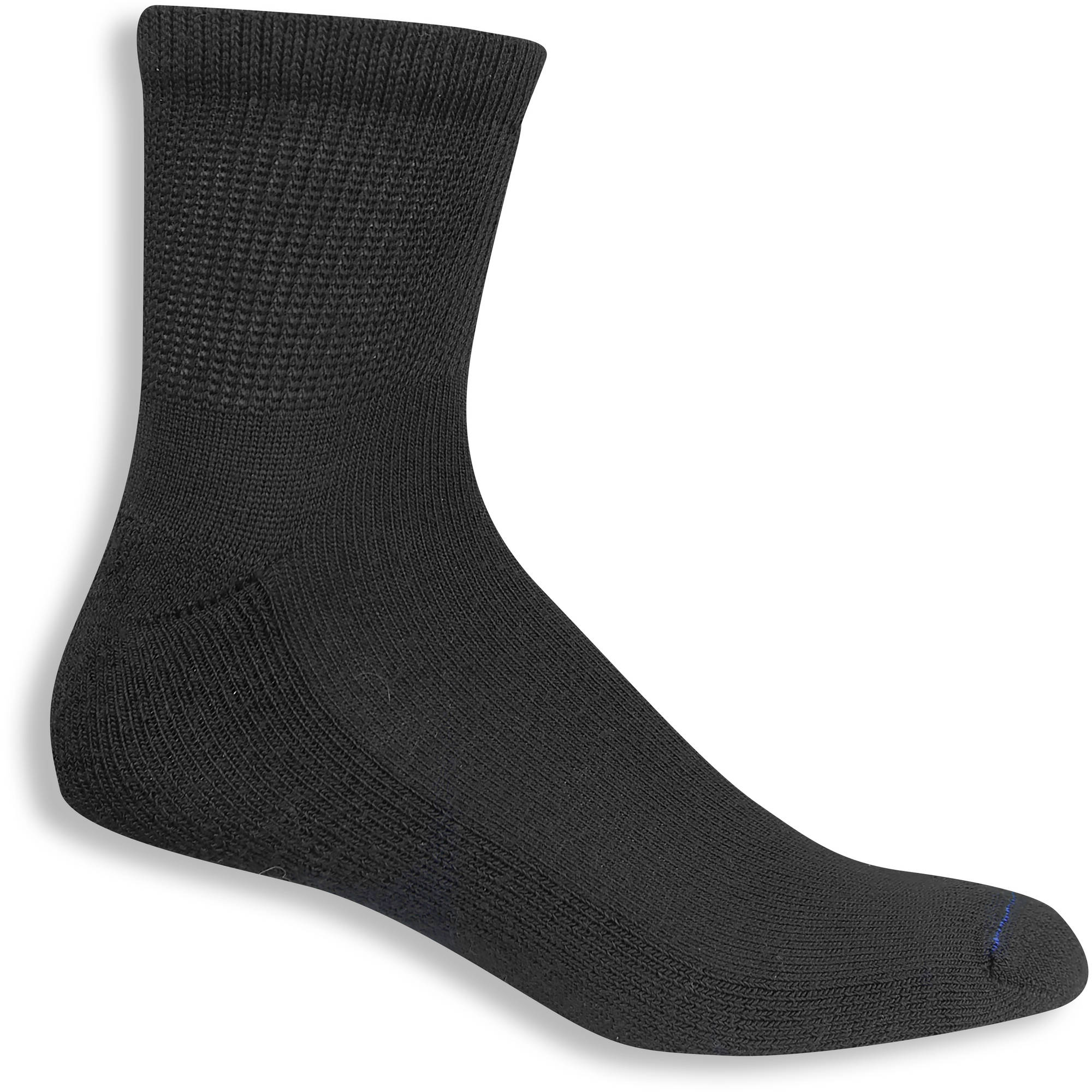 Men's Diabetic and Circulatory Basic Ankle Socks 4-Pack