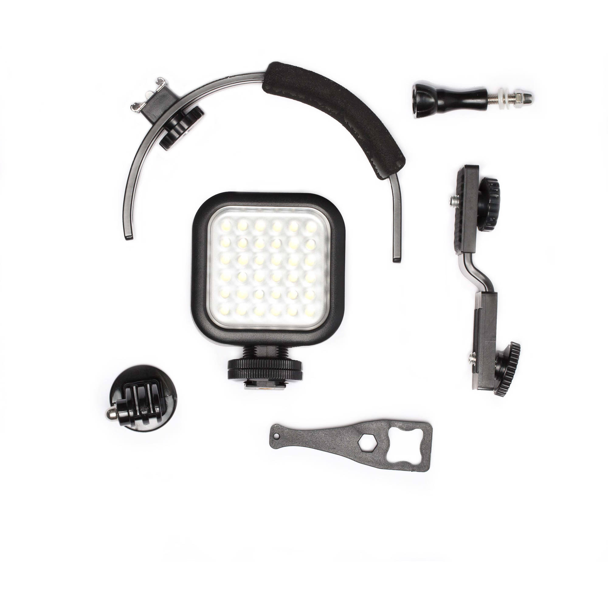 Filemate LED Light set Compatible with most cameras & all GoPro HERO series