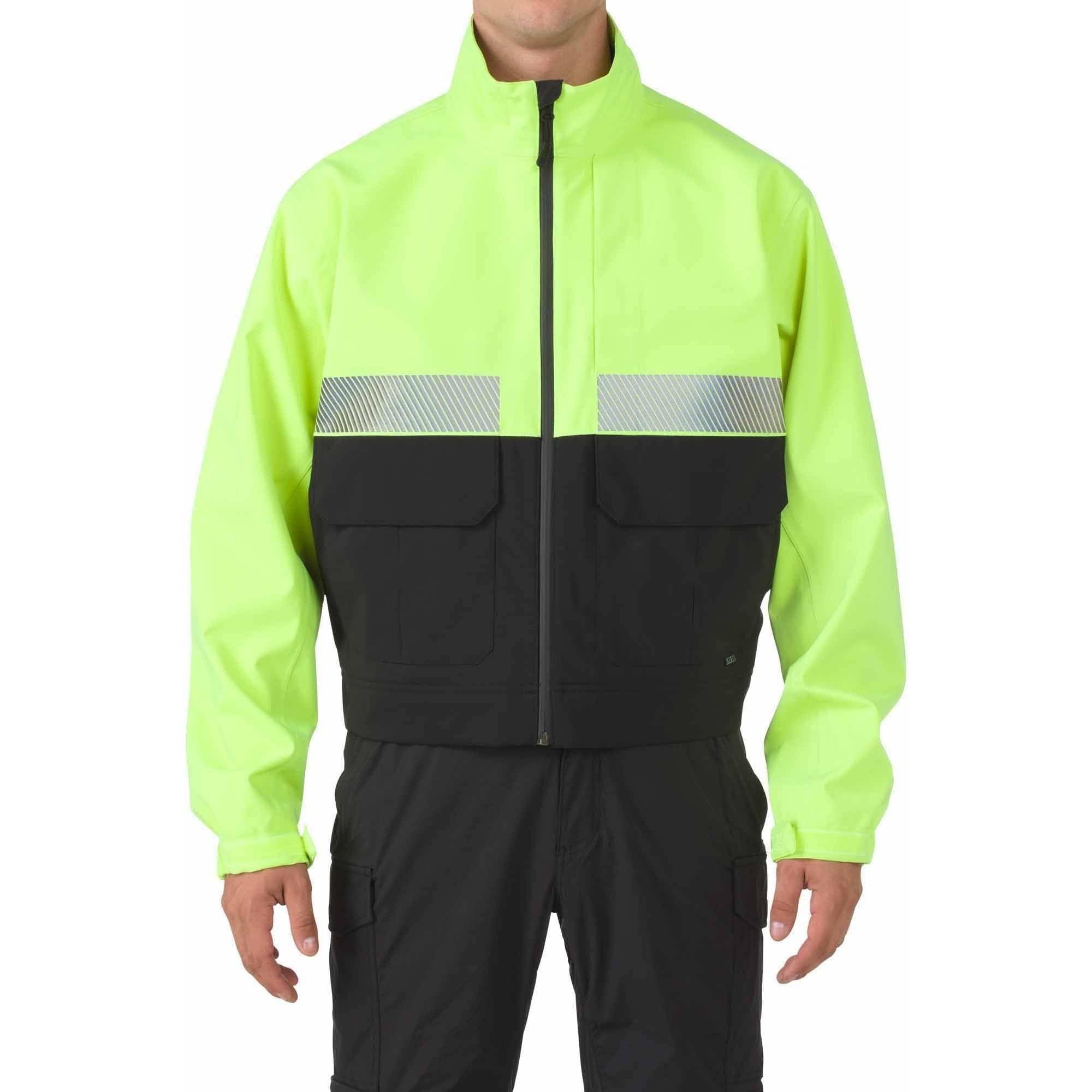 5.11 Tactical Bike Patrol Jacket, High-Vis Yellow