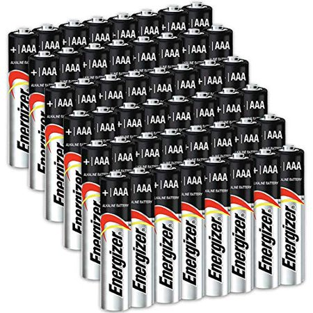 48 Count Energizer AAA Batteries, Triple A Battery Max Alkaline