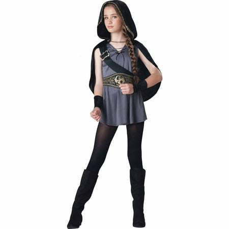 Hooded Child Huntress Child Halloween Costume](Hooded Huntress Child Costume)