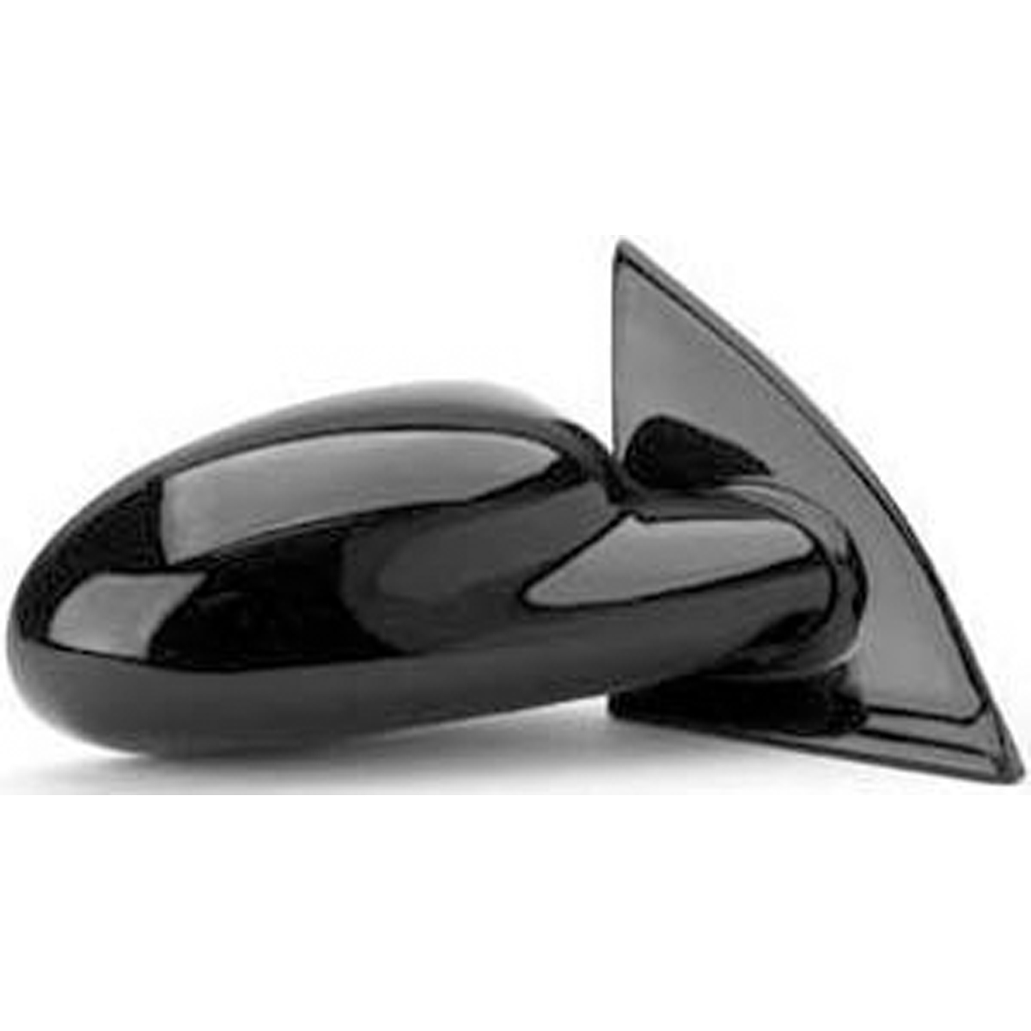 1997-2002 Saturn SC1  Passenger Side Right Manual Door Mirror Assembly, 21112674; 21097596