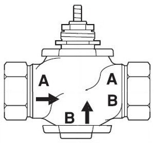 "VB-7223-0- 1/2"" NPT 2-WAY N.C. VALVE BODY FOR"