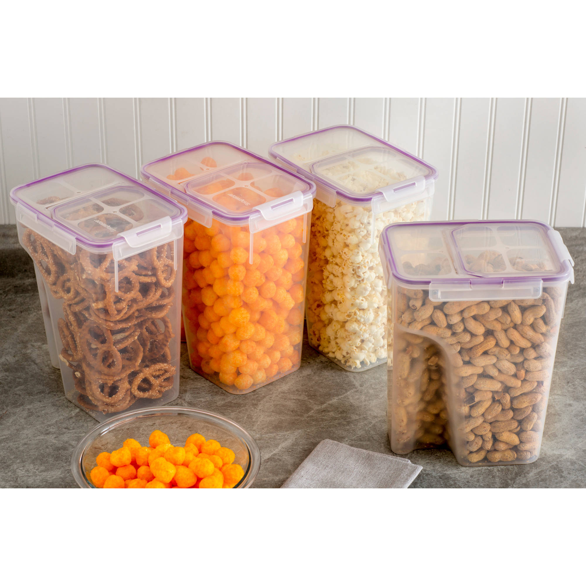 Snapware Airtight 24 Piece Food Storage Set Walmartcom