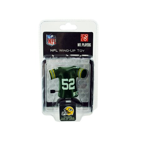 Green Bay Packers Clay Matthews Jersey Wind Up Toy