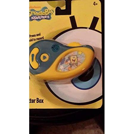 Sponge Bob Chatter Box / Voice Changer - Walmart com