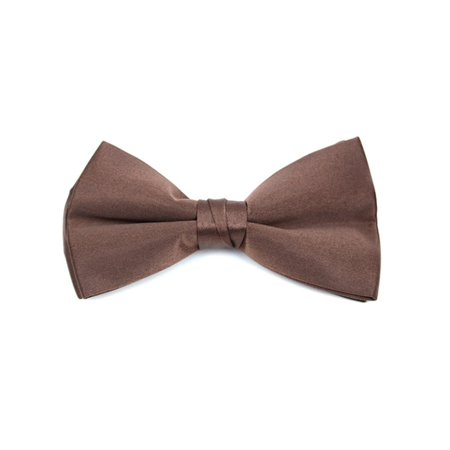 Men's Pre-tied Clip On Bow Tie - Formal Tuxedo Solid Color - Baby Green Color
