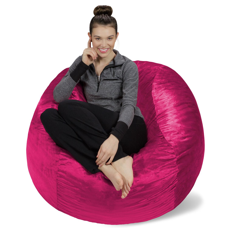Sofa Sack Memory Foam Bean Bag Chair - 4 ft