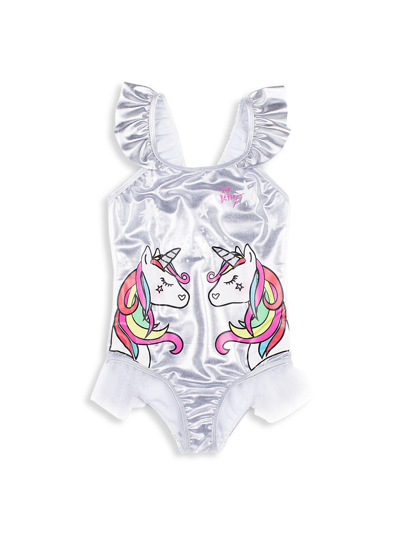 Girl's Unicorn One-Piece Swimsuit