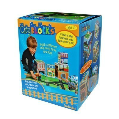 Babalu- City Blocks Stacking Blocks  Playmat - image 1 of 1