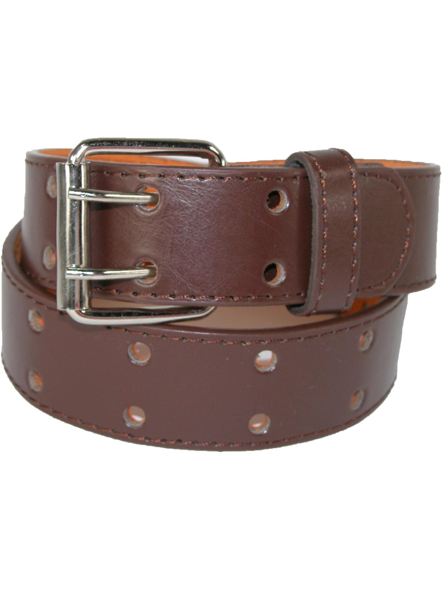 Kid's Leather Two Hole Jean Belt (Pack of 2)