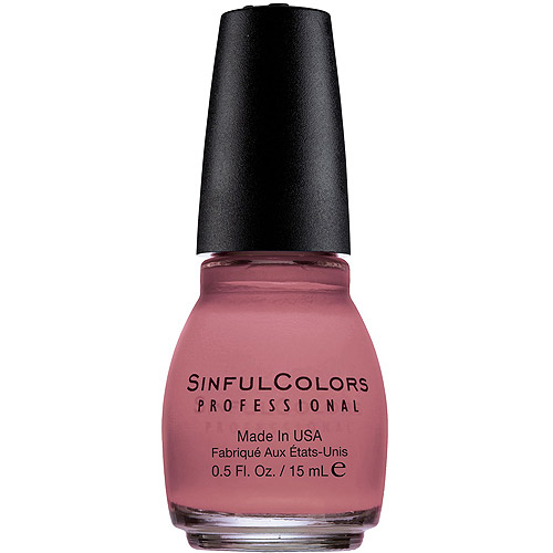 Sinful Colors Professional Nail Polish, Vacation Time, 0.5 fl oz - Walmart.com