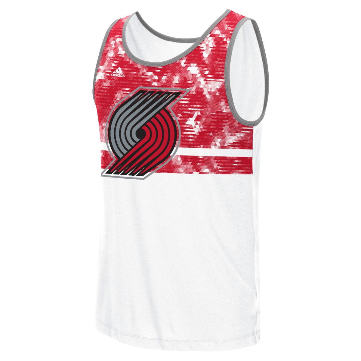 "Portland Trail Blazers Adidas NBA ""Energy Camo"" Men's Tank Top T-Shirt"