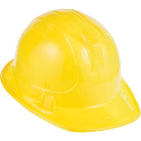 Access Under Construction Child Size Plastic Hat, Yellow, 1 - Under Construction Decorations