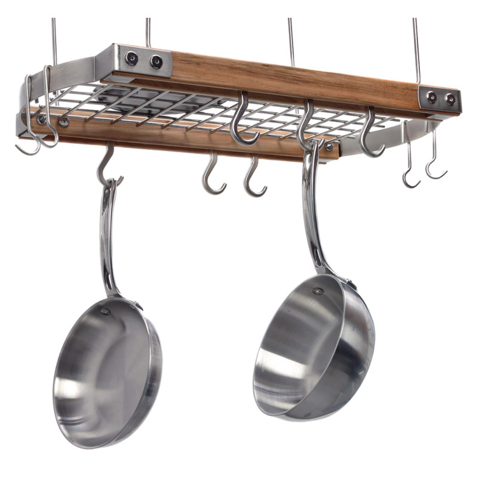 Brunswick Ceiling Pot Rack - Natural