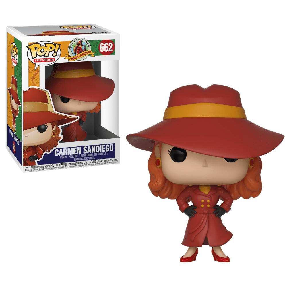 Funko Pop! TV: Carmen Sandiego - Carmen Sandiego