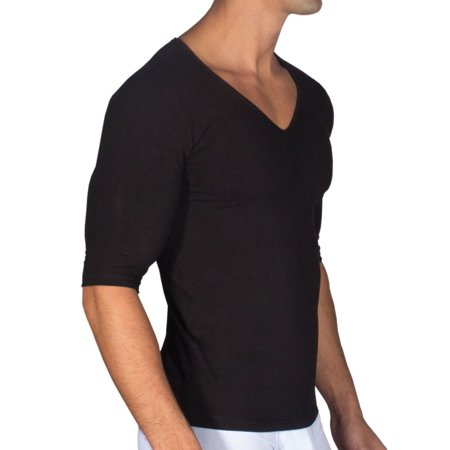 14cbaf767ec Rounderbum - Men s Rounderbum RBMS01 Padded Shaping Muscle T-Shirt -  Walmart.com