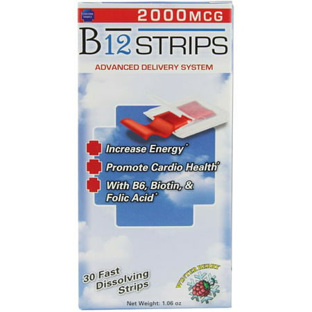 Essential Source B12 Strips with B6 and Biotin, 30