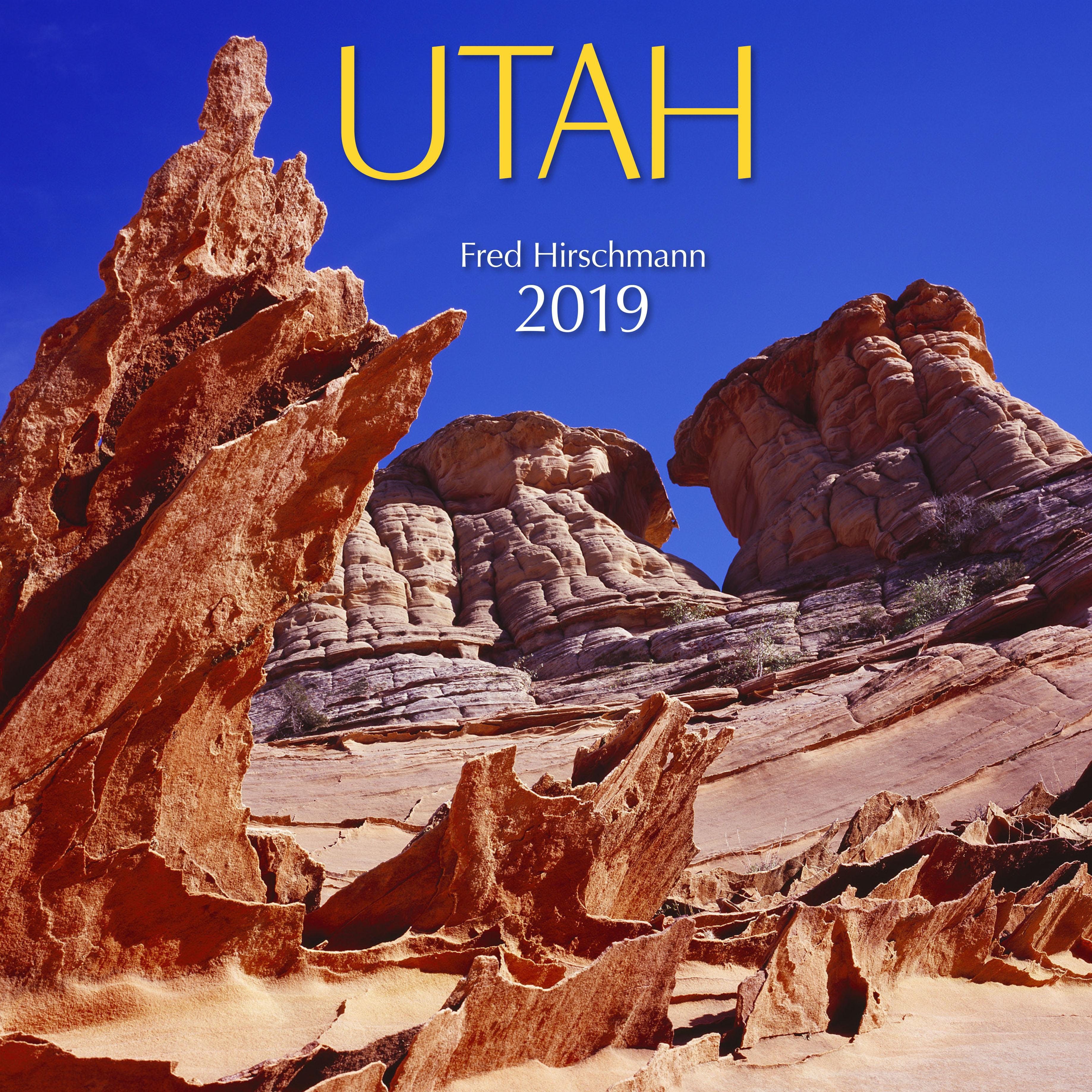 2019 Utah Wall Calendar (Other)