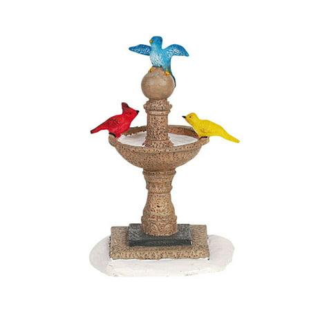 Lemax Village Birdbath Christmas Accessory #64469