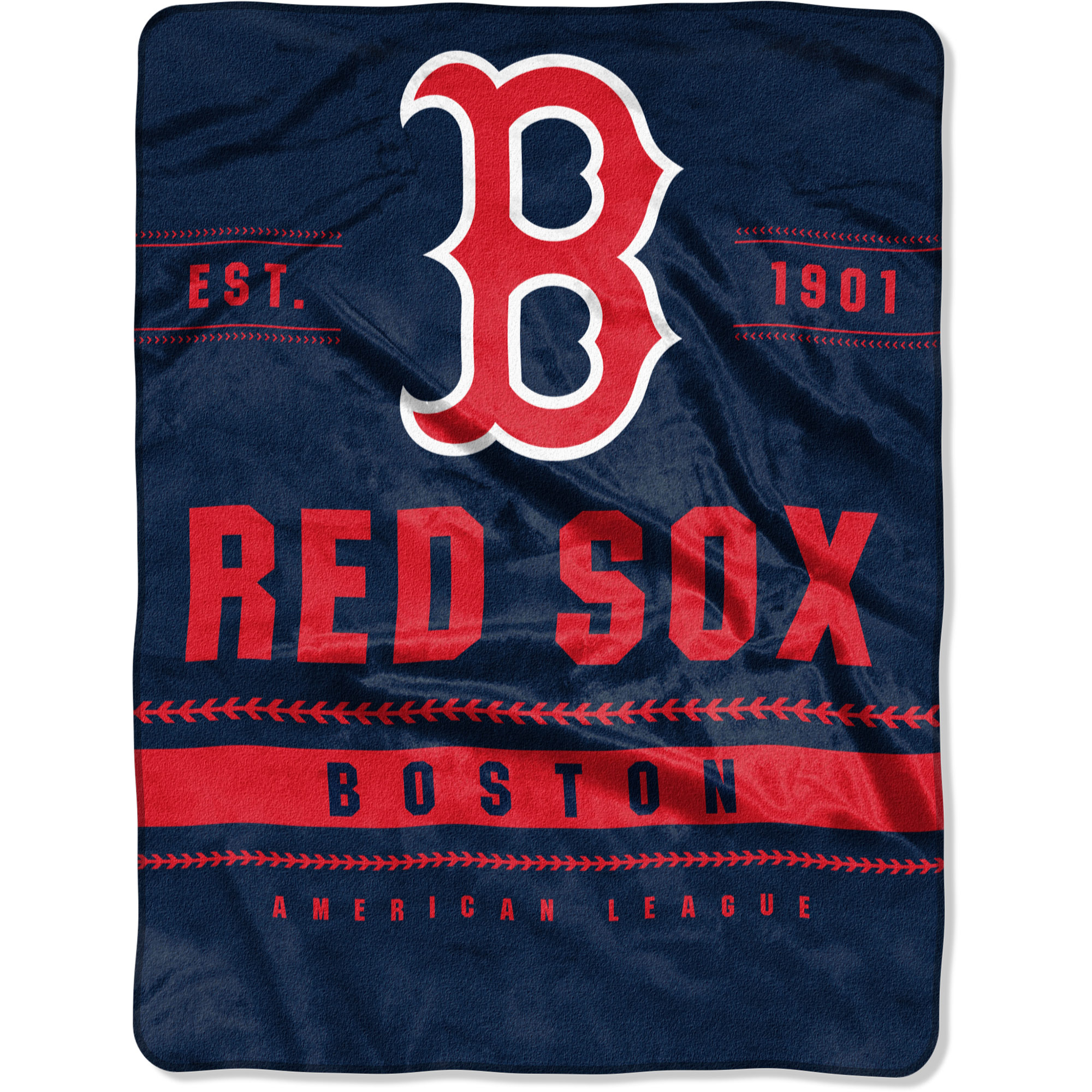 "Boston Red Sox The Northwest Company 60"" x 80"" Backstop Silk Touch Throw Blanket - No Size"