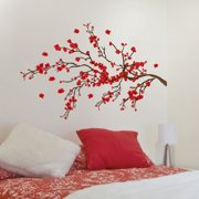 Red Ramage Wall Decals Stickers