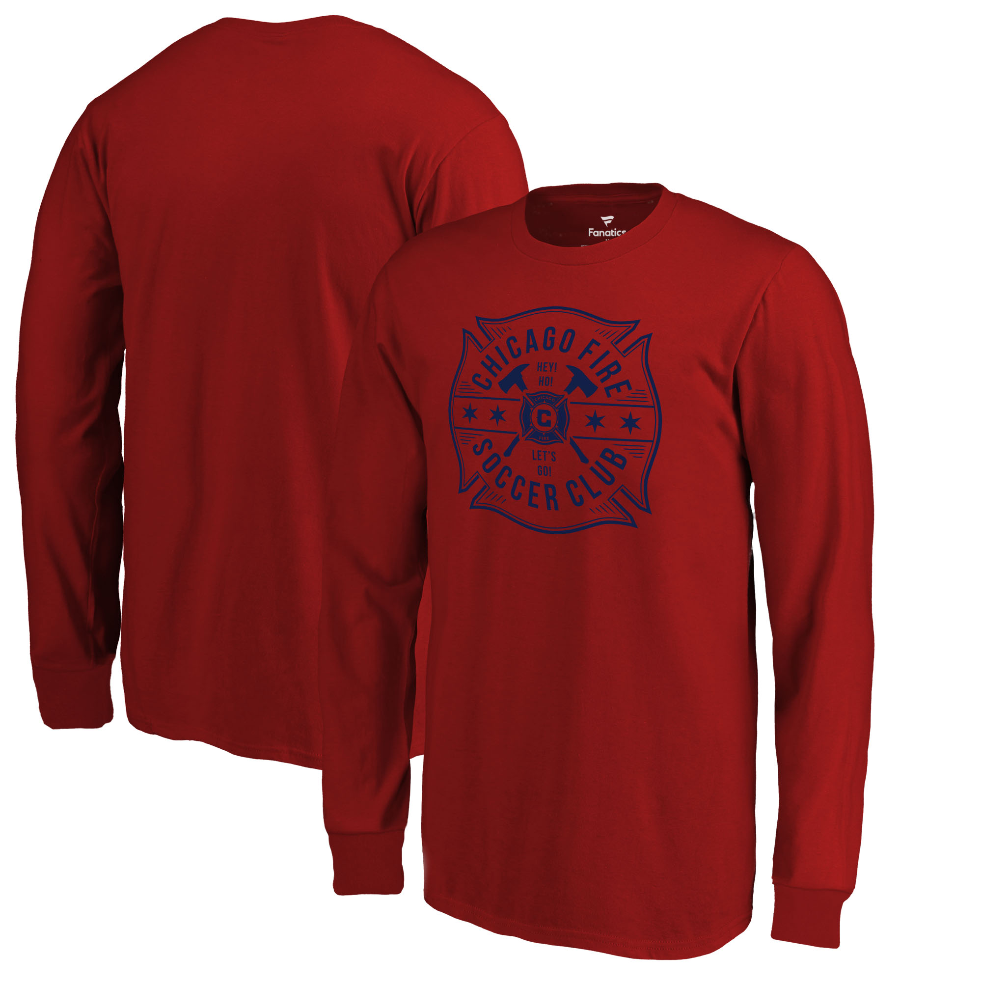 Chicago Fire Fanatics Branded Youth Hometown Collection Long Sleeve - Red